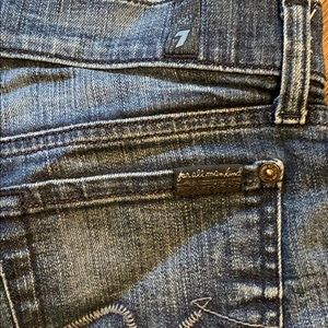 7 For All Mankind Shorts - 7 For All Mankind size 26 jean shorts
